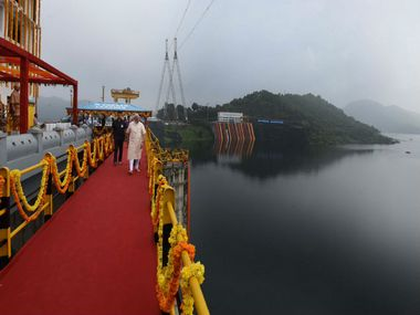 Sardar Sarovar Dam is officially 'complete' though 30% unbuilt canal system will impact irrigation goals