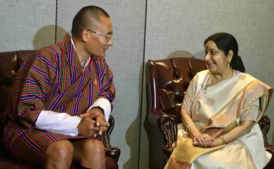 Sushma Swaraj represents India at UN General Assembly, holds bilateral, trilateral talks on sidelines
