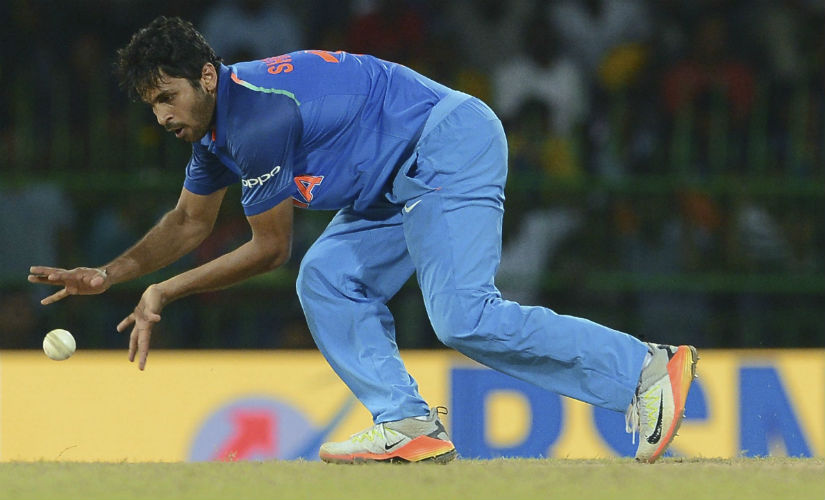 India's Shardul Thakur in action during the 4th ODI against Sri Lanka at the R Premadasa Stadium in Colombo. AFP