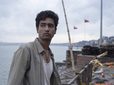 Vicky Kaushal in a still from Masaan. Image from Facebook/@MasaanTheFilm