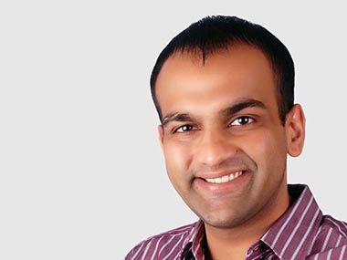 Aakrit Vaish, founder and CEO of Haptik