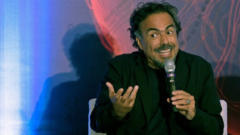 Mexican director Alejandro González Iñárritu, who has already won two Oscars in consecutive years, will receive a special Oscar for a virtual reality installation on the suffering of immigrants. Image courtesy: Alfredo Estrella/ AFP