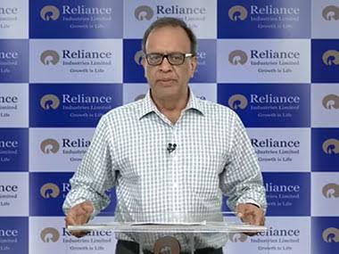 Reliance Industries Q2 net up 12.5% at Rs 8,109 cr; watch CFO Alok Agarwal analysing the earnings