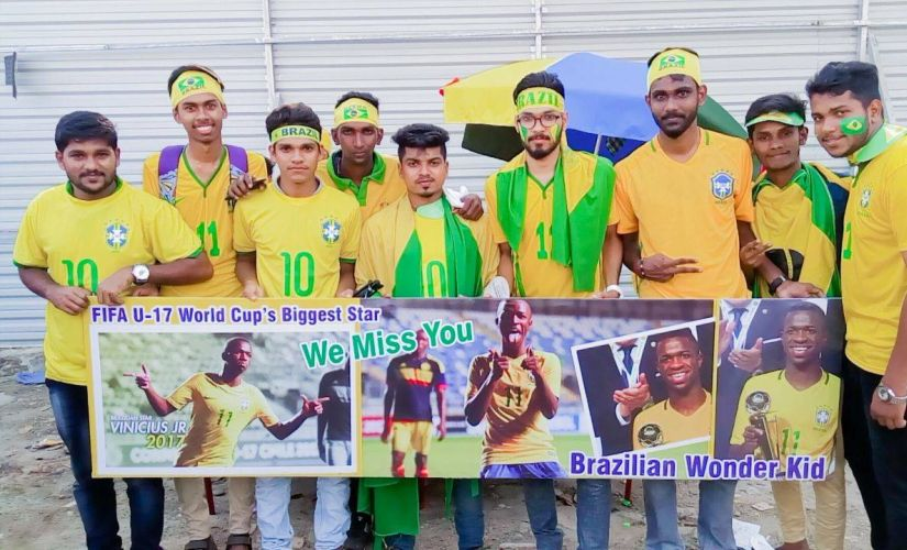 FIFA U17 World Cup 2017 Enamoured by Socrates enticed by KakaNeymar Kerala embraces Brazil as its own