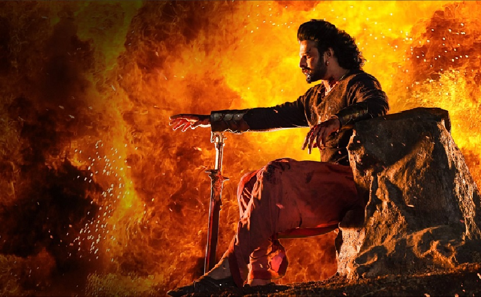 Because if there's Prabhas, there has to be Baahubali. Enough said. Image from Twitter.
