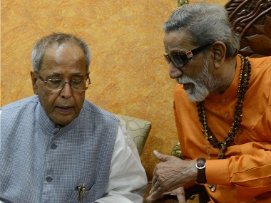 When Pranab Mukherjee reached out to Bal Thackeray and incurred Sonia Gandhi's wrath, all to save the alliance