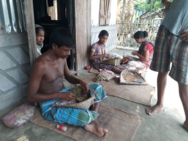 Assam floods aftermath Part 2: Hapless farm families in Dhubri take to beedi rolling for survival