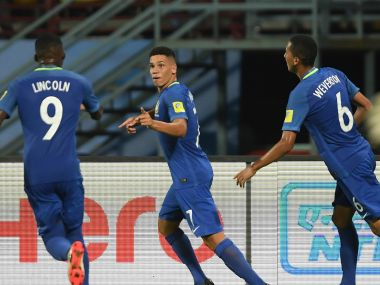 FIFA U-17 World Cup 2017: Brazil book place in knock-out rounds with easy win over defensive North Korea