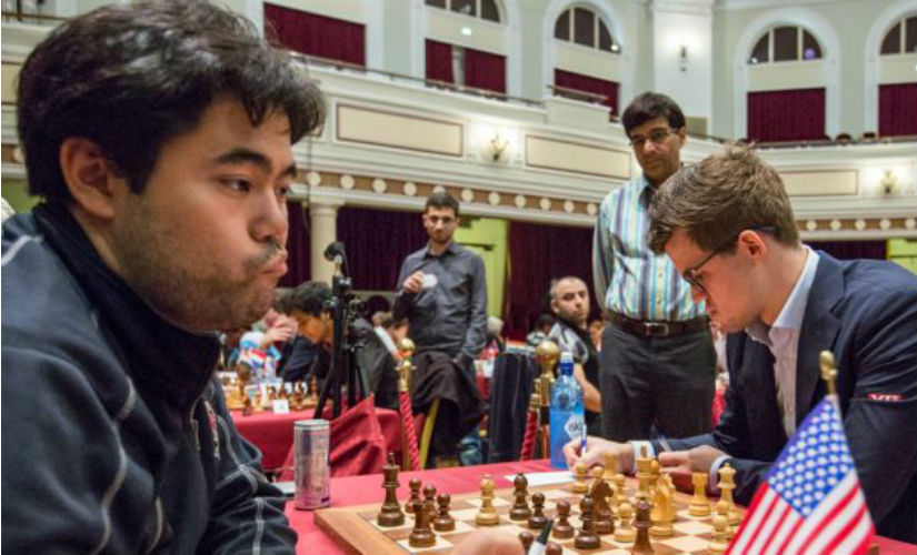 Isle of Man Open Viswanathan Anands superior tactics stand out in victory over Hou Yifan
