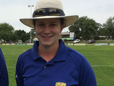 File image of Australian umpire Claire Polosak. Image courtesy: Twitter @CricketAus