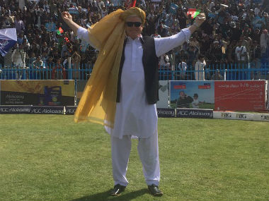Former Australian batsman Dean Jones had recently covered the Shpeeza Cricket League as a commentator. Image credit: Twitter/ProfDeano
