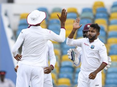 Zimbabwe vs West Indies: Devendra Bishoo's five-wicket haul hands Windies advantage on Day 2 of first Test