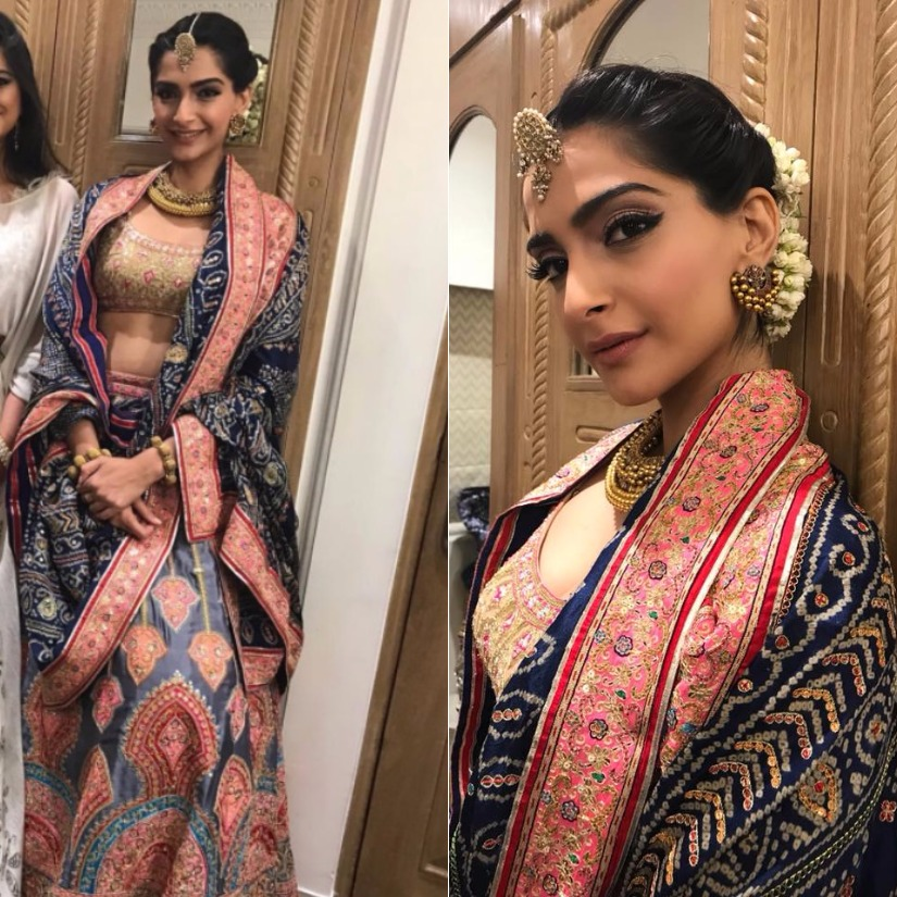 Sonam Kapoor. Images from Facebook.