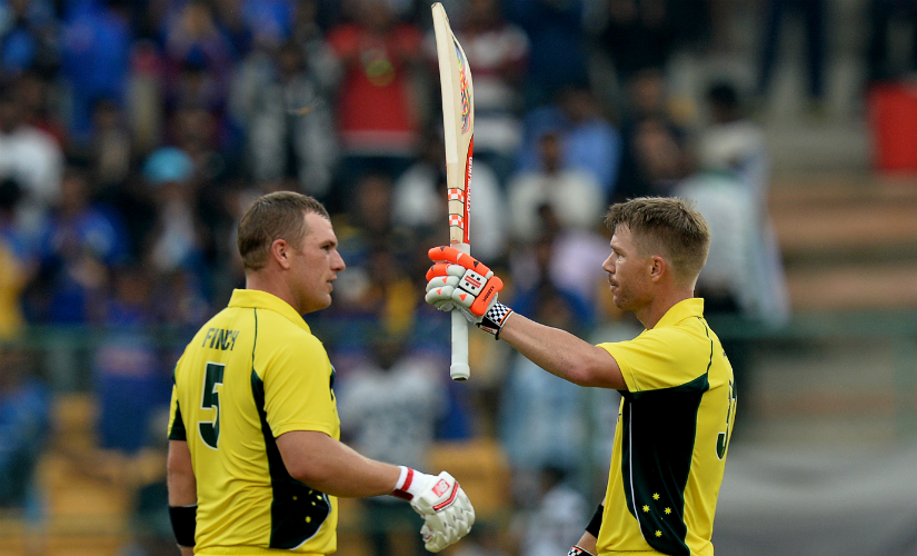 David Warner and Aaron Finch scored a total of 495 runs in the series. The Australian middle order (Travis Head, Peter Handscomb, Glenn Maxwell, Marcus Stoinis and Matthew Wade) scored just 423 runs. AFP