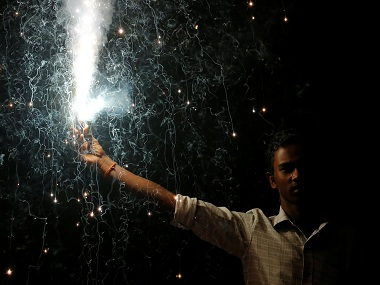 Diwali celebrations in Jaipur At least 60 injured while bursting firecrackers over 40 incidents of fire reported