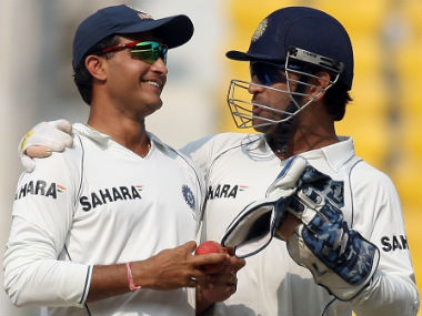 Sourav Ganguly sacrificed his batting spot to make MS Dhoni a great player, says Virender Sehwag