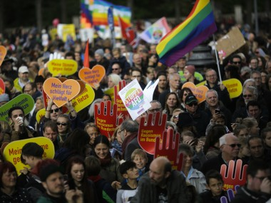 Thousands march in Berlin against far-right AfD's debut in German parliament; decry racism, Islamophobia