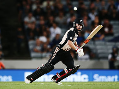 File image of New Zealand's Glenn Philips. Getty Images
