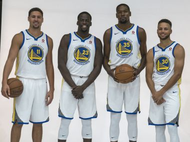 NBA 2017-18 preview: With no glaring weaknesses, the great Golden State Warriors can become even greater