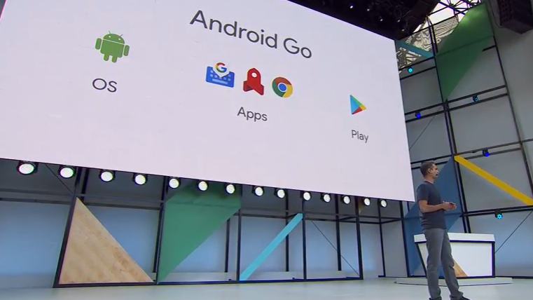 Components of Android Go environment. Image Credit: Google