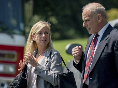 Kirstjen Nielsen to take charge of Homeland Security; White House aide had also served in George W Bush administration