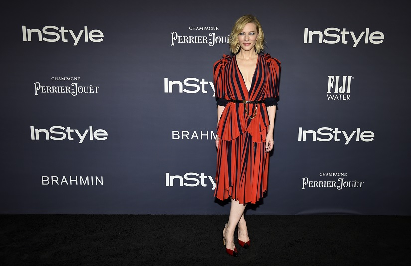 Cate Blanchett at the InStyle Awards. Image from AP.
