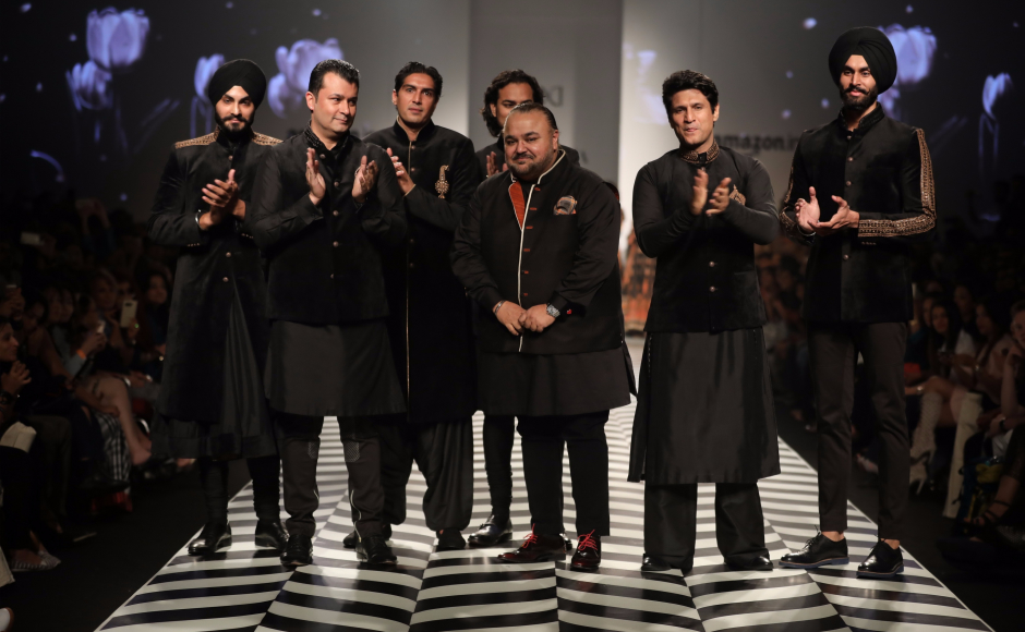JJ Valaya's show at the Amazon India Fashion Week Spring/Summer 2018 marked the completion of a quarter of a century of the coutourier's wonderful journey in the world of style and fashion.