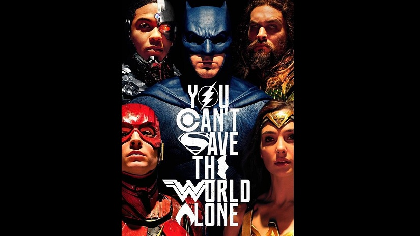 Poster of the new film, Justice League. Image courtesy: Facebook/Justice League