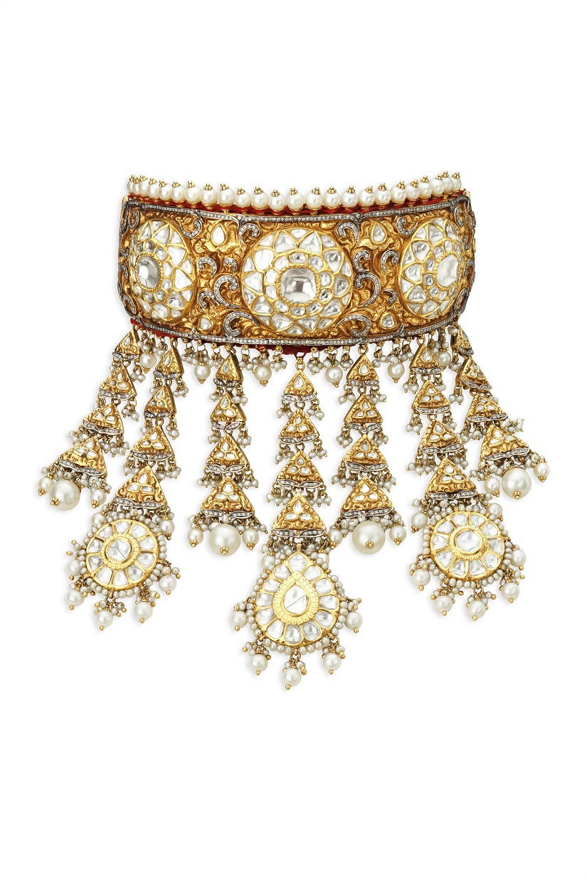 Ghoomar - jewelry piece for Padmavati.