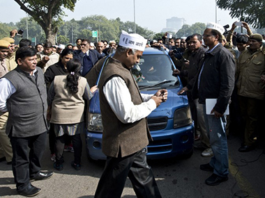 Arvind Kejriwal's iconic blue Wagon R car found abandoned in Ghaziabad two days after theft