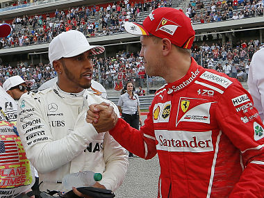 United States Grand Prix: Lewis Hamilton clinches record 72nd pole position ahead of Sebastian Vettel in second