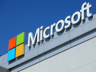 The Microsoft logo. Reuters.