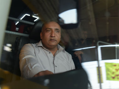 Meher Mohammad Khalil, the heroic bus driver from the 2009 attack in Lahore. AFP