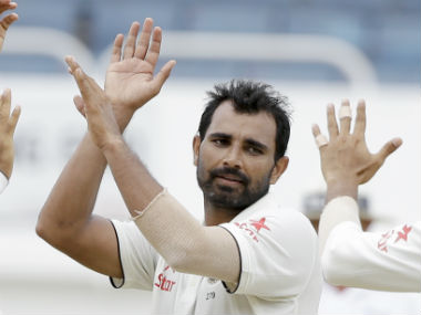 Mohammed Shami had played just one game in the India-Australia ODI series, and is thus being considered match-ready for the Ranji Trophy. AP