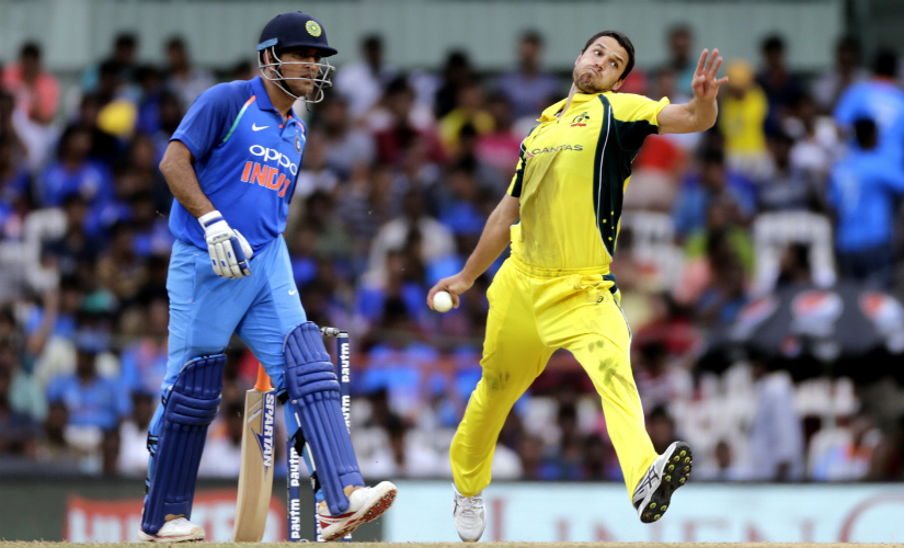 Nathan Coulter-Nile stepped up in the absence of Australia's premier pace bowlers, Mitchell Starc and Josh Hazlewood. AP