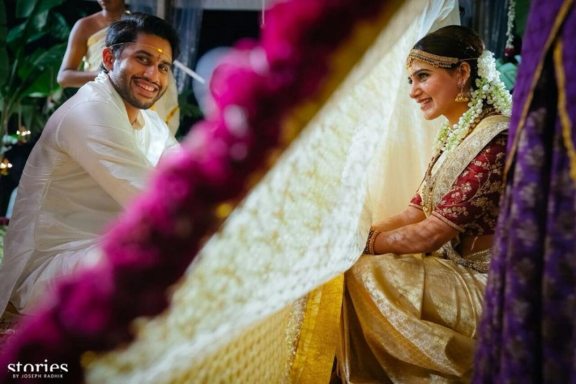 Chaitu and Samantha Tie Knot
