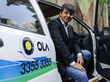 Bhavish Aggarwal, CEO and co-founder of Ola. Reuters