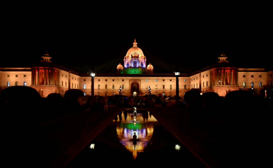 Raisina Hills gets new look: Dynamic facade lighting offers visual treat to visitors
