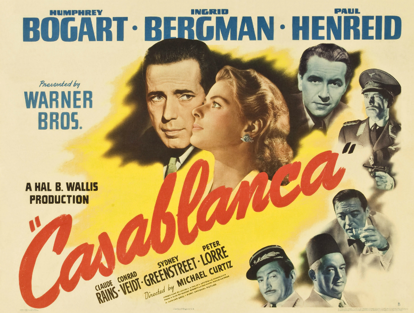 The film went on to win three Academy Awards – Best Picture, Director and Adapted Screenplay at the 16th Academy Awards in 1944. YouTube screengrab
