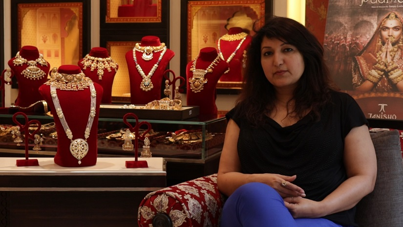 Queeta Rawat - Padmavati's jewelry designer. in conversation with Firstpost.