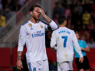 La Liga: Real Madrid handed shock defeat in Catalonian pro-independence heartland of Girona