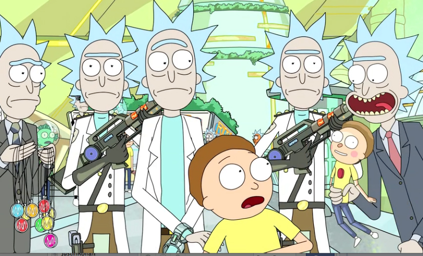 Rick and Morty Science fiction and comedy have never been combined in a wittier smarter way