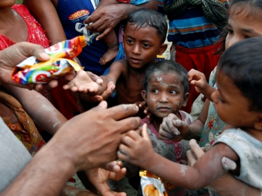 Rohingya crisis: About 14,000 children taking refuge in Bangladesh have lost one or both parents
