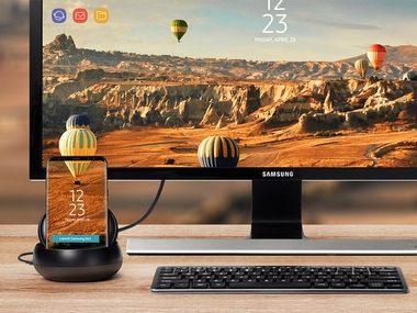 Samsung launched DeX earlier this year with the Galaxy S8 and S8+