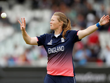 File picture of Anya Shrubsole. Reuters