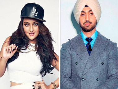 Golmaal in New York: Sonakshi Sinha, Diljit Dosanjh's upcoming film gets a name