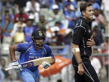 Time Southee and his team would have to adapt quickly to have any chance of winning on Sunday. AP