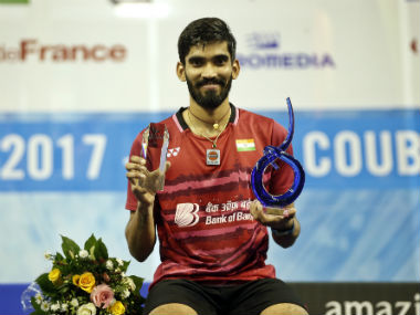 French Open Superseries Kidambi Srikanth creates history downs Kenta Nishimoto in straight games to lift title