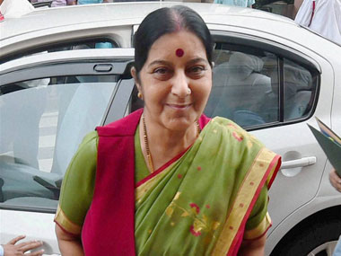 Sushma Swaraj attends SCO Summit in Russia Counterterrorism measures likely to top agenda