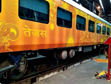 IRCTC to charge 50 percent lesser fares for DelhiLucknow AhmedabadMumbai Tejas Express trains as compared to flights